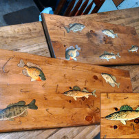 Hand Painted Table Tops